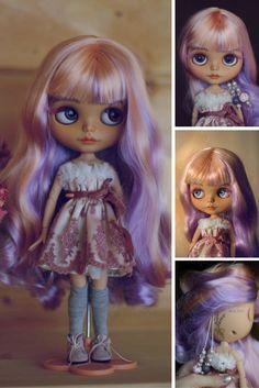 Sale! at STOCK Custom Blythe Doll Collection doll Blythe doll TBL blythe Handmade Doll OOAK doll Blythe doll Art doll by Master Diana E.