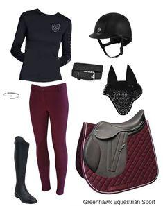 6a95f835f45 Asmar Equestrian Long Sleeve T-Shirt Elation Red Label Pull On Breech Auken  Verona Synthetic Field Boot