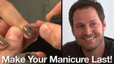 Chanel Nail Expert Reveals His Secrets to Getting the Perfect Manicure at Home-This guy has some AMAZING, easy tips, and the things that he uses to make a million dollar manicure we all have laying around the house! Some of his secrets are telling us that Chanel Nail Polish, Chanel Nails, Manicure Tips, Manicure At Home, Nail Tips, Nail Hacks, All Things Beauty, Girly Things, Beauty Secrets