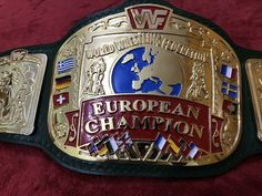 Purple Leather, Real Leather, Soft Leather, World Championship Wrestling, Wwe Belts, Undertaker Wwe, Ready To Rumble, European Championships, John Cena