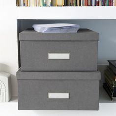25x34x14 cm 26x37x15 cm Document Box Ulrika | Bigso
