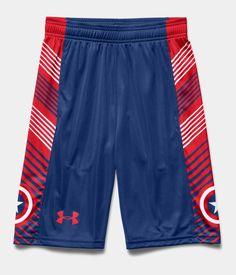 Boys' Under Armour® Alter Ego Captain America Shorts   Under Armour US