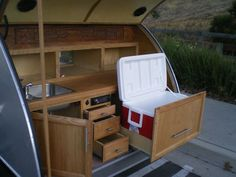 Best Teardrop Camper Trailer Plans Available! Trailer Plans, Teardrop ...