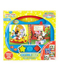 Look at this #zulilyfind! Mickey Mouse Clubhouse My First Story Reader by Mickey Mouse Clubhouse #zulilyfinds