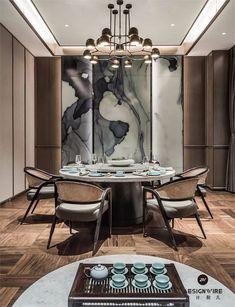 5 Simple Ideas to Improve Your Dining Room Design – Voyage Afield Luxury Dining Tables, Luxury Dining Room, Dining Room Design, Chinese Tea Room, Rooms Ideas, Chinese Interior, Thanksgiving Diy, Private Dining Room, Indochine