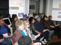 A crowd of 40 people attended the lecture.