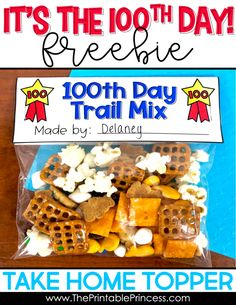 The 100th day is one