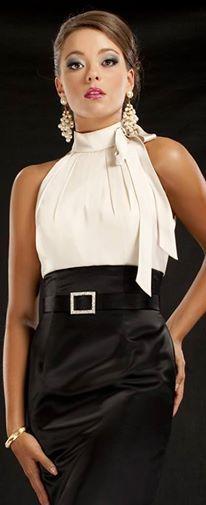 Look do Dia Look Chic – Preto e Branco para usar em qualquer ocasião.