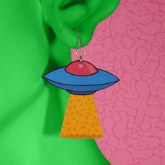 Richie Brown Town | Ufo Earrings | Online Store Powered by Storenvy