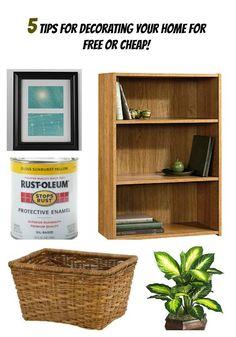 Paint your unsightly vinyl or laminate floors. | 31 Home Decor Hacks That Are Borderline Genius