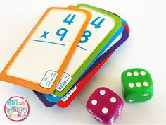 FREE Multiplication Math Facts Games (Diary of a Not So Wimpy Teacher) Division Flash Cards, Math Flash Cards, Multiplication Facts Games, Math Facts, Easy Math Games, Fun Math, Math Enrichment, Math Activities, Math Worksheets