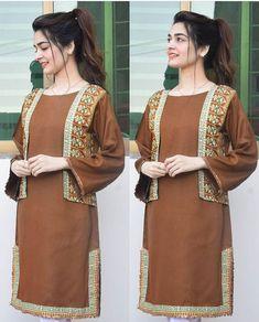 Simple Pakistani Dresses, Pakistani Fashion Casual, Pakistani Bridal Dresses, Pakistani Dress Design, Pakistani Outfits, Muslim Fashion, Indian Fashion, Ladies Kurti Design, Girls Frock Design
