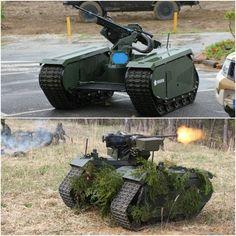Estonian military robot THeMIS ADDER.