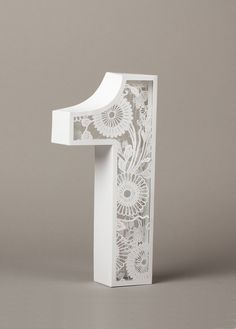 Typography / Number One (Self initiated, Print) by Lo Siento Studio, Barcelona — Designspiration