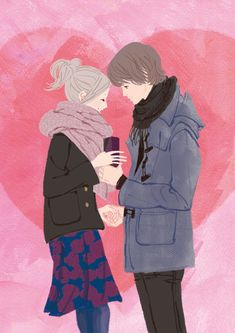 I love couple art :3