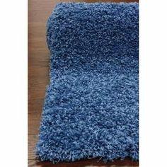Ultra Blue Shag Rug (8' x 10')