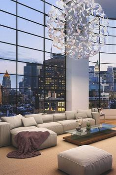 i'm clearly obsessed with high ceilings and glass windows instead of walls! this is wonderful.