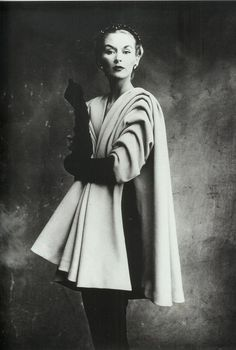 Lisa Fonssagrives in Balenciaga by Irving Penn for Vogue, 1950