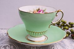 This is a beautiful tea cup.