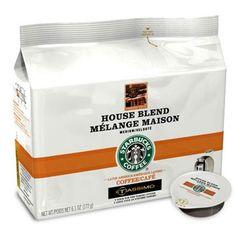 Starbucks, Coffee Pods, House, Medium, Haus, Homes, Medium-length Hairstyle
