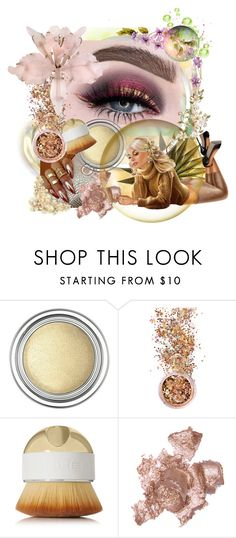 """""""Metallic Makeup"""" by thelydialondon ❤ liked on Polyvore featuring beauty, Christian Dior, In Your Dreams, Artis and By Terry"""