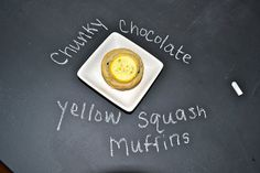 Make the best of everything!: Chunky Chocolate Yellow Squash Muffins