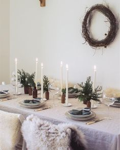 I recently shared my tips for simple Christmas entertaining and table styling for /91magazine/ . I love gathering (and eating!) this month but I also love keeping it simple. Tons of tips and all my sources in the link in my bio! Natal Natural, Hygge Christmas, Simple Christmas, Beautiful Christmas, Scandinavian Christmas, Rustic Christmas, Winter Christmas, Christmas Holidays, Christmas Table Settings