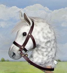 Limited edition hobby horse grey