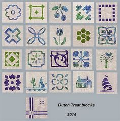 Aunt Reen's Place: Really love her colors in her Dutch Treat blocks