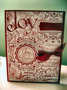 stampin up christmas collage - Google Search