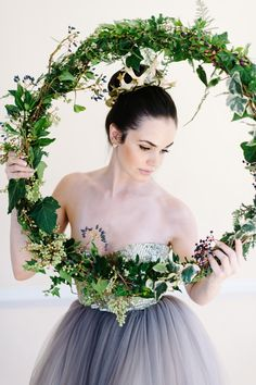 Nutcracker Ballet Styled Shoot by Debbie Lourens & Green Goddess flower…