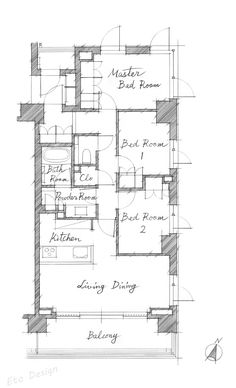 Conceptual Architecture, Architecture Drawings, Architecture Design, Architectural Presentation, Apartment Plans, Small House Plans, Tiny House, Layouts, Floor Plans