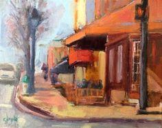 "Daily Paintworks - ""Hyperion"" - Original Fine Art for Sale - © Carol Josefiak"