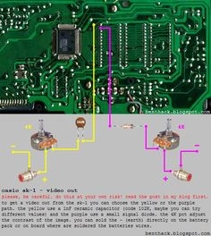 19 best circuit bent images on pinterest bending circuit and casio rh pinterest com