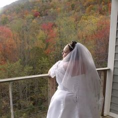 Seven Devil's Wedding with Fall Foliage