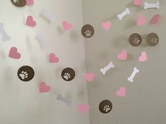 Puppy Dog Themed Paper Garland Puppy Birthday by ClassicBanners