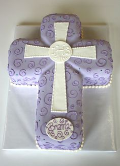 Cake idea for First Communion ~ LOVE