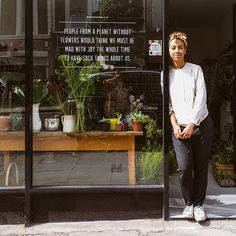 'People from a planet without plants would think we must be mad with joy the whole time to have such things about us' - Iris Murdoch (1919-1999) - Author. Interview with @botanyshope5 owner Angela on our blog travels.toa.st #TOASTANDBOTANY #plants #flowers