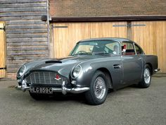 Aston Martin DB5 - Would love to treat Hubby one day....