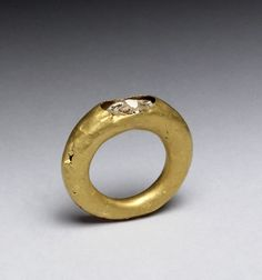 Ring with Damaged Stone  #ArtoftheDay