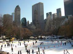 NYC ice skating