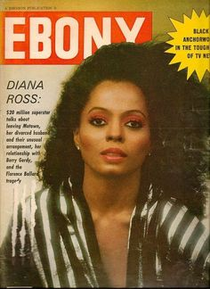 Diana Ross cover of Ebony Magazine 1981 Vibe Magazine, Jet Magazine, Essence Magazine, Black Magazine, Celebrity Magazines, News Magazines, Ebony Magazine Cover, Magazine Covers, Berry Gordy