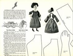 Doll Patterns by Joan Russell for Woman's Day