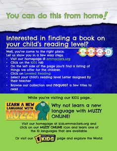 Check this out for your kids...stuff you can do from home!