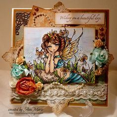 Wishing You a Beautiful Day- Crafts and Me Inspiration