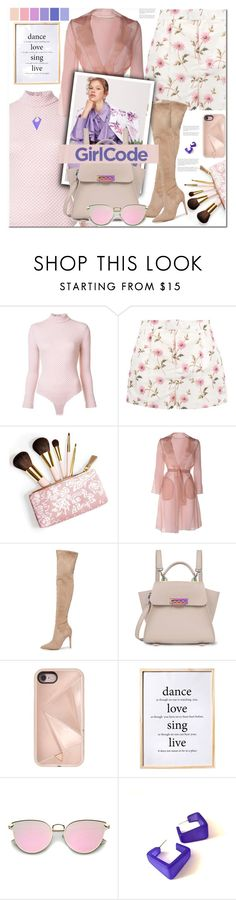 """""""Floral Shorts!!!!"""" by sweta-gupta ❤ liked on Polyvore featuring Emilia Wickstead, RED Valentino, AERIN, MaxMara, Kendall + Kylie, ZAC Zac Posen, Rebecca Minkoff, Seed Design, Bloomingville and Alexis Bittar"""