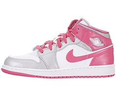 Jordan Girls Air Jordan 1 Mid Gs