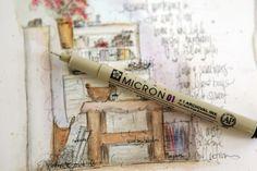 christytomlinson: The art of Wild Abandoment Workshop Artist Journal, Art Journal Pages, Art Journals, Watercolor Sketch, Pastel Art, Mixed Media Art, Altered Art, Folk Art, Art Projects