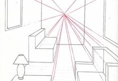 Como desenhar um quarto em perspectiva usando um ponto de fuga | 44 ARQUITETURA