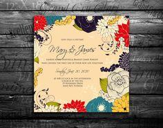 Wedding invitation Bridal shower announcement Save by hypermarket, $2.95